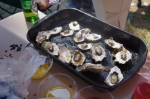 Oysters on the half shell - an all time crowd pleaser