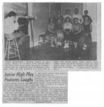 'No Moon Tonight' - Our Freshman Play (1957)
