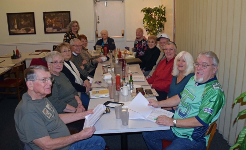 1/5 Reunion Committee Meeting -Dave Brown, Sherry Kent, Diane Evers, Joe Wingard, Mary Lou Younglove, Linda Spooner, Joa